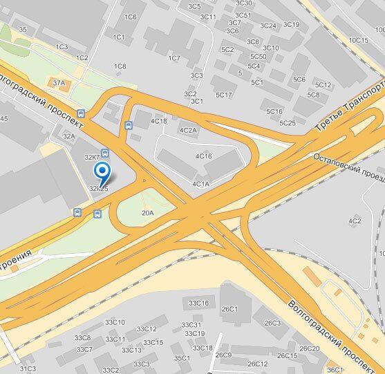 Показать на карте Yandex